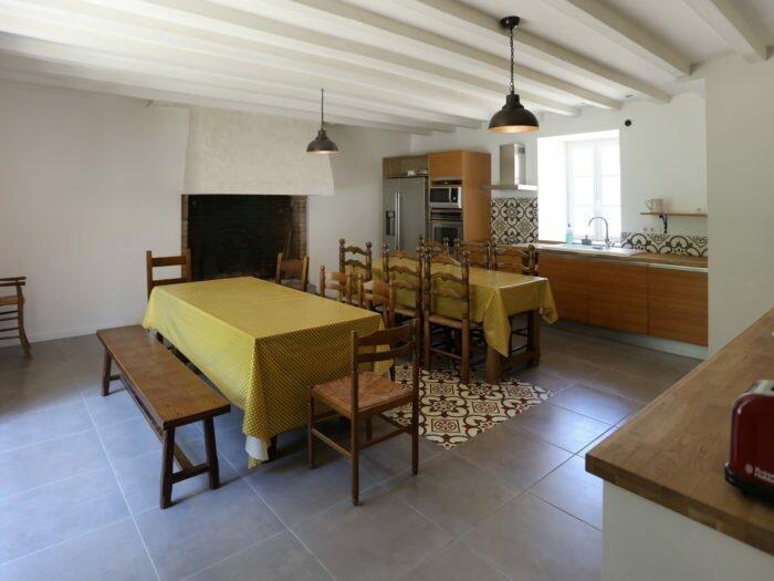 Manoir intérieur cuisine